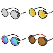 Steampunk Sunglasses Vintage Retro Classic Fashion Round Design Glasses Goggles