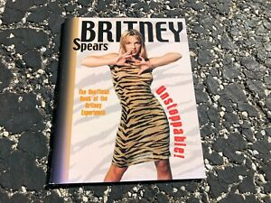 2001 BRITNEY SPEARS UNSTOPPABLE! sc book - GREAT SHAPE