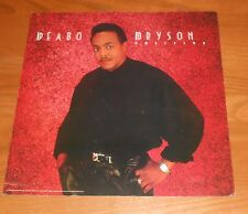 Peabo Bryson Positive Poster 2-Sided Flat Square 1988 Promo 12x12 RARE