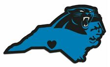 Carolina Panthers Home State Vinyl Decals Football NEW!