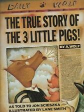 The True Story of the 3 Little Pigs!-ExLibrary