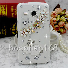 New Jewelled Rhinestone Bling Crystal Diamond Soft Gel Phone Case Cover Skin 2