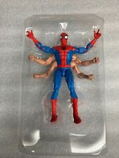 marvel legends six arm spider-man in trimmed tray from kingpin wave