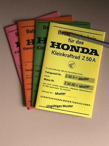 Datenblatt / ABE Honda  Honda ST 50 G  DAX / Monkey  Z 50 A