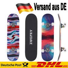 Skateboard Holzboard Deck Funboard Komplett Skate Board Ahornholz Versand aus DE