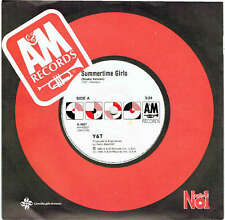 "Y&T - SUMMERTIME GIRLS - 7"" 45 VINYL RECORD - 1985"