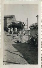 PHOTO ANCIENNE - VINTAGE SNAPSHOT - SAINT HERENT RUE PRINCIPALE PUY DE DÔME 1942