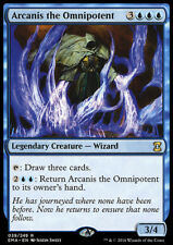 MTG Magic - (R) Eternal Masters - Arcanis the Omnipotent - NM
