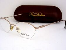 BROOKS BROTHERS BB 211 1050 Women's Gold Half Rimless Eyeglass Frames Italy NOS