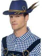 TEDESCA Oktoberfest Cappello blu Bavarese uomo birra Accessorio Vestito