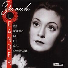 CD Zarah Leander SCHWEDISCH Det Började Med Ett Glas Champagne NEU NEW