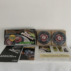 """Lightning Audio By Rockford Fosgate- Fast And The Furious 6"""" 2-way Speakers NEW!"""
