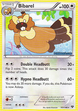 BIBAREL 107/146 - XY POKEMON RARE CARD - IN STOCK NOW!