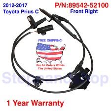 New ABS Wheel Speed Sensor fits 2012-2017 Toyota Prius C Front Passenger Side FR
