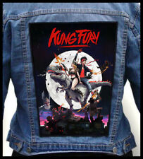 KUNG FURY #2 --- Giant Backpatch Back Patch