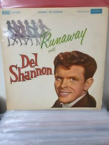 "Del Shannon – Runaway Vinyl 12"" 1st Press Mono LP London HAX 2402 1961"