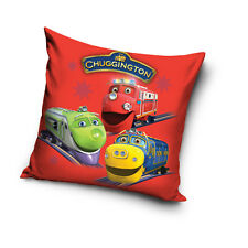 NEW LICENSED CHUGGINGTON TRAINS 03 cushion cover 40x40cm 100% COTTON pillowcase