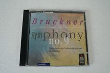 Bruckner Symphony No.9, Radio Sinfonie Orchester Frankfurt, CD (Box 55)