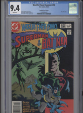 WORLDS FINEST COMICS #296 NM 9.4 CGC HIGHEST 1 OF 1 CANADIAN PRICE VARIANT ANDRU
