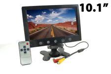 MONITOR 10.1 POLLICI TFT LCD DUE INGRESSI VIDEO SORVEGLIANZA AUTO CAMPER CASA TV