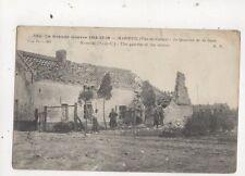 Grande Guerre 1914-16 Maroeuil Quartier de la Gare WW1 Postcard France 695a