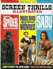 Screen Thrills Illustrated #8 F/VF 1960's Warren Magazine Comic Book
