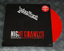 """Judas Priest 'Night Crawler' LTD Edn 4-track 12"""" EP/Maxi Red Color Vinyl Rare EX"""