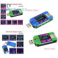 UM24/UM25C USB Type-C Color LCD Display Tester Voltage Current Meter US