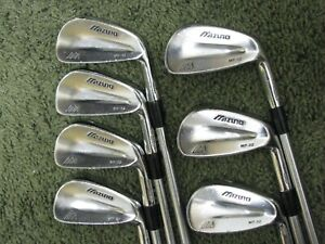 Mizuno MP-32 Forged Irons 4-PW Stiff Flex Project X Rifle Steel Very Nice!!