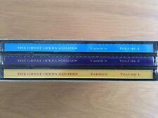 The Great Opera Singers. 3 CD Box Set.