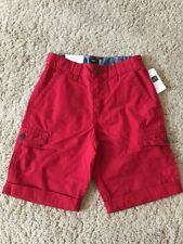 Gap Kids Boys 8 Red Short Side Pockets NWT New