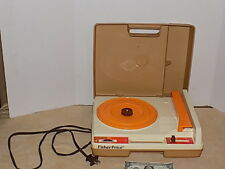 Vintage 1978 Fisher Price Record Player Turntable #825 33 45 RPM