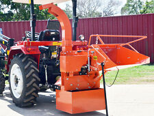 8 inch (200mm) PTO Wood Chipper Category 1, Three-point linkage