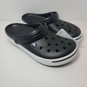 Crocs Crocband II Black/Black Clog 11989-060 Men's Size 9 Women's Size 11