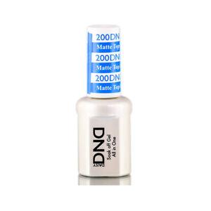 DND Daisy Soak Off Gel Matte Top Coat 200 Gel Polish full size LED/UV .5oz