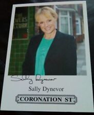 Signed Cards Coronation Street D Surname Initial Collectable Autographs