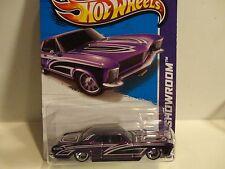 2013 Hot Wheels Super Treasure Hunt #238 Purple '64 Buick Riviera w/Real Riders