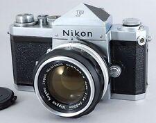 Super Rare MINT Nikon F Eyelevel 64xxxxx Nippon Kogaku 50mm f/1.4 From Japan