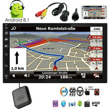 GPS In Dash Double 2 Din Car Stereo NO DVD Player Touchscreen Auto Radio Android