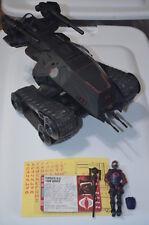 GI Joe Pursuit of Cobra HISS H.I.S.S. Tank v5 Black PoC Loose Complete Hasbro