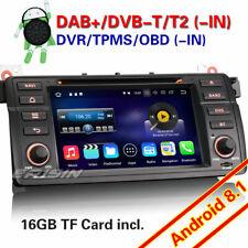 Android 8.1 Autoradio Navi WiFi DVD 4G DAB+ BMW 3er E46 M3 318 320 MG ZT Rover75