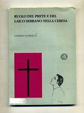 Corrado Giorgetti # RUOLO DEL PRETE E DEL LAICO SERRANO NELLA CHIESA # 1993
