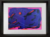 Marino MARINI Original Double Sign Ltd EDITION Lithograph 1974 w/Frame Included