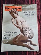 PICTUREGOER - UK MOVIE MAGAZINE - JEANNE CRAIN - CYD CHARISSE -  14 NOV 1953