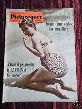 PICTUREGOER - UK MOVIE MAGAZINE - JEANNE CRAIN - CYD CHARISSE -  14 NOV 1953