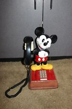 Vintage Walt Disney Mickey Mouse push button dial Telephone