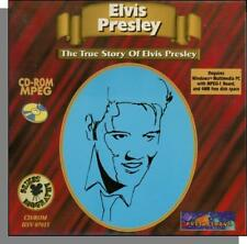Elvis Presley - The True Story - New 1994 CD-ROM Documentary, Plays on Windows