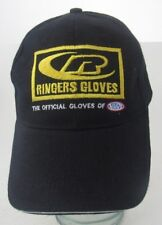 Ringers Gloves The Official Gloves Of The NHRA Baseball Hat Cap Advertising A14