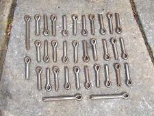 "Lot of old stock / unused 3/8"" split pins - 1 1/2"" & 3"" shank"
