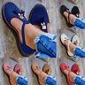 Women's T-Bar Sandals Casual Flat Chunky Heel Closed Toe Mules Summer Flat Shoes